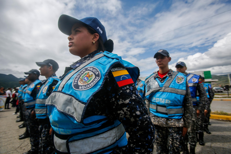 Despliegue del Servicio de la Policía Comunal en el eje Guarenas –Guatire (5)