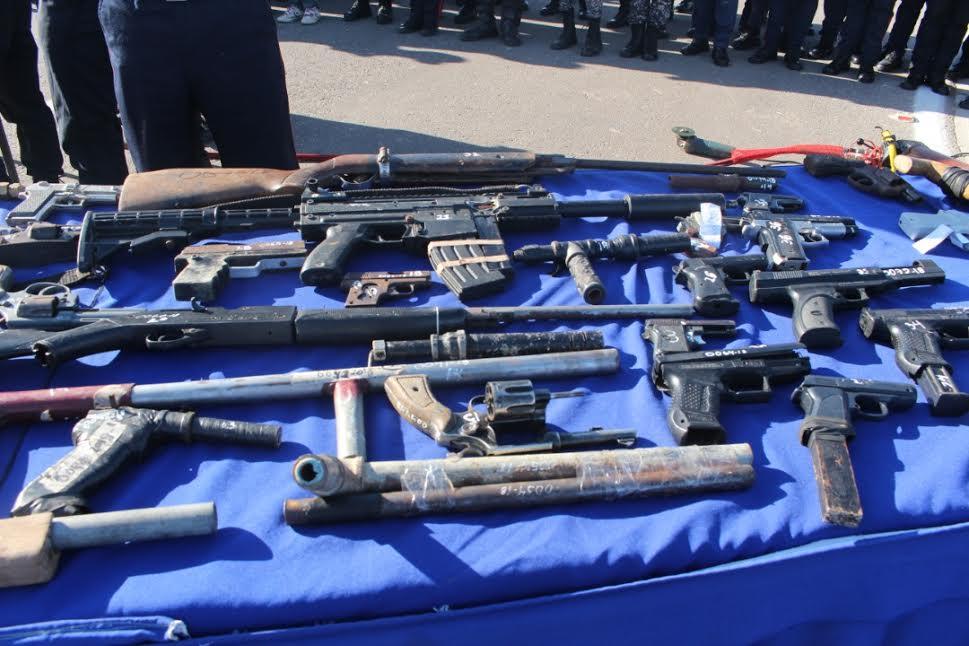 En Nueva Esparta el Senades inutilizó 208 armas de fuego (3)