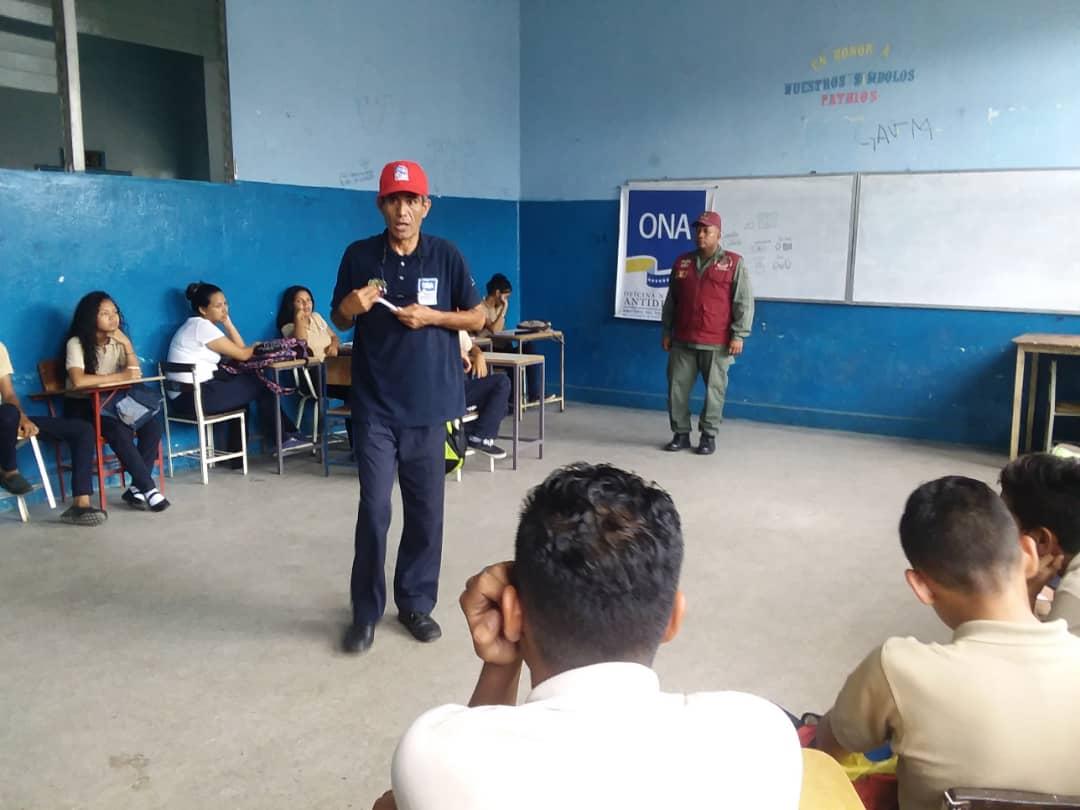 Frente Preventivo de Monagas juramentó 120 estudiantes para el Observatorio Escolar de Prevención (1)