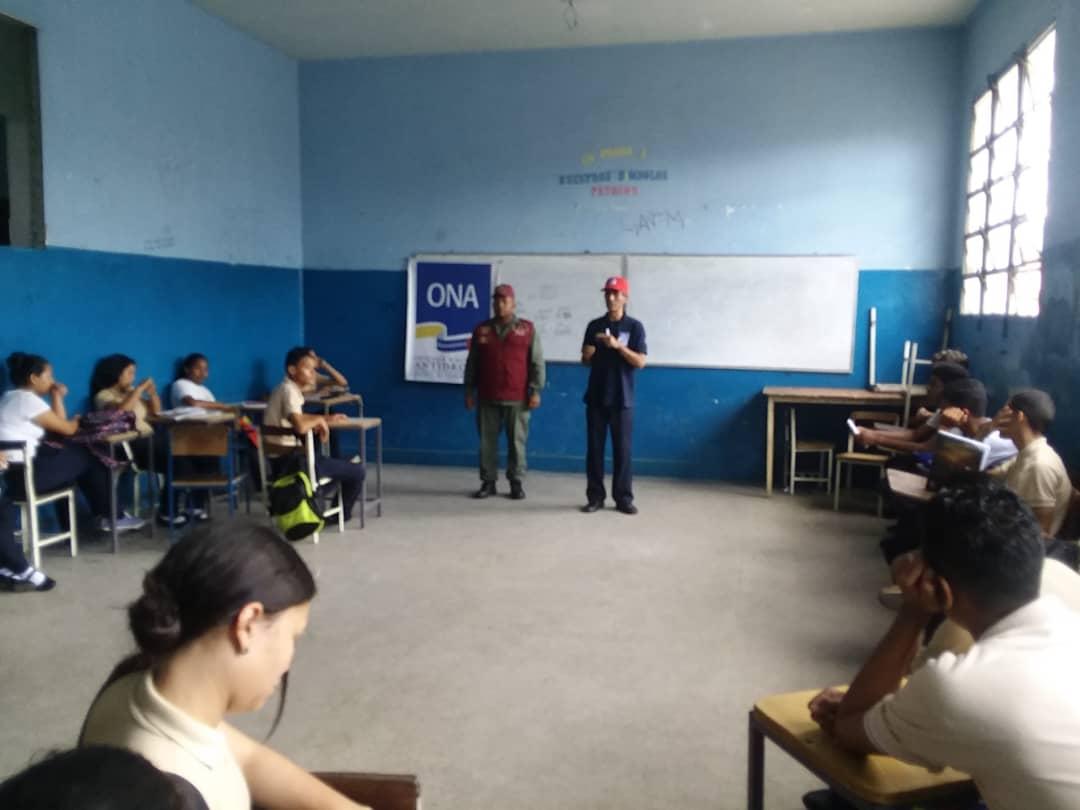Frente Preventivo de Monagas juramentó 120 estudiantes para el Observatorio Escolar de Prevención (2)