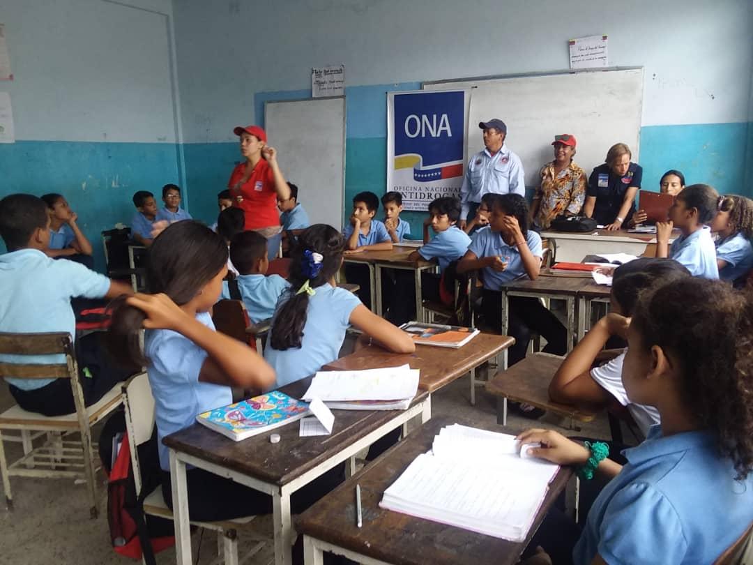 Frente Preventivo de Monagas juramentó 120 estudiantes para el Observatorio Escolar de Prevención (3)