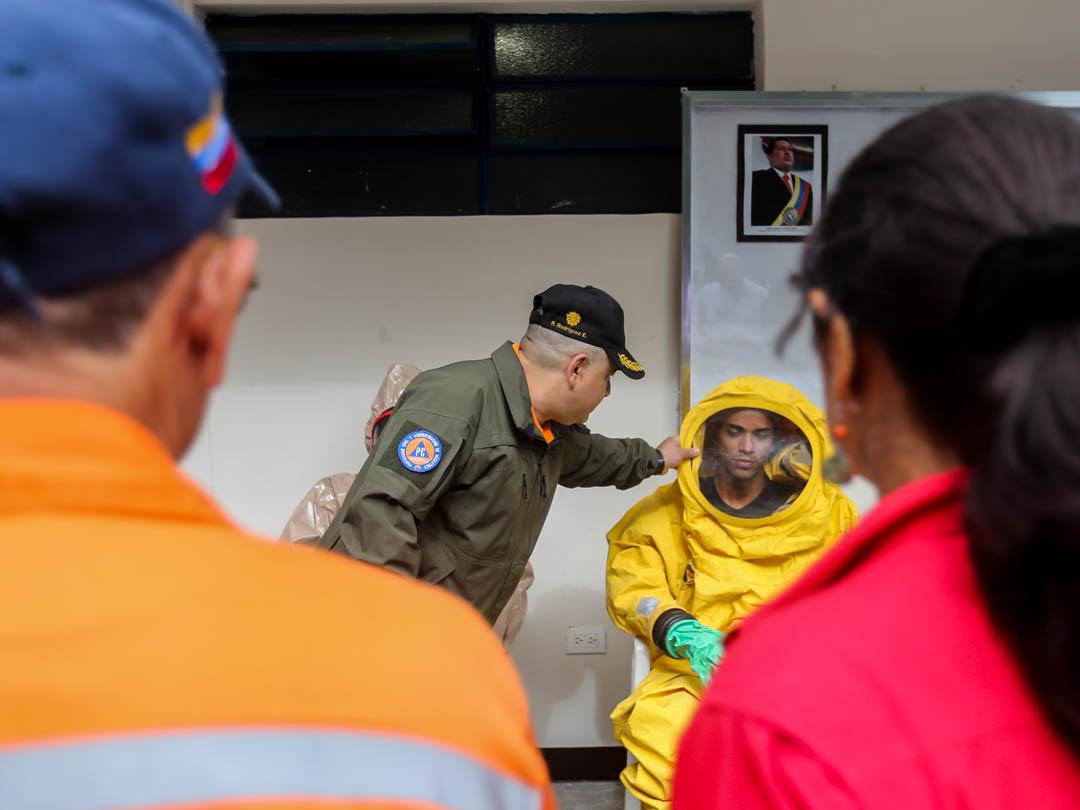 Funcionarios fortalecen conocimientos en emergencias nucleares y radioactivas (2)