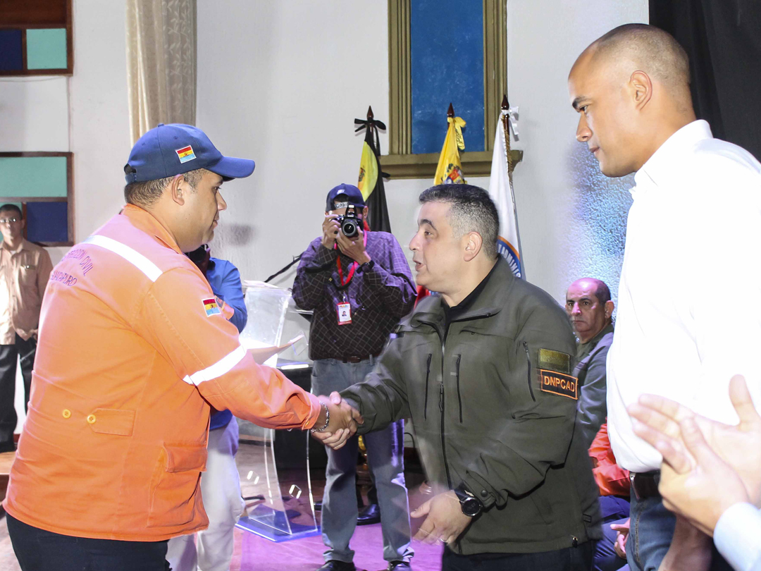 Gobernación de Miranda entregó jerarquías a 160 funcionarios de PC