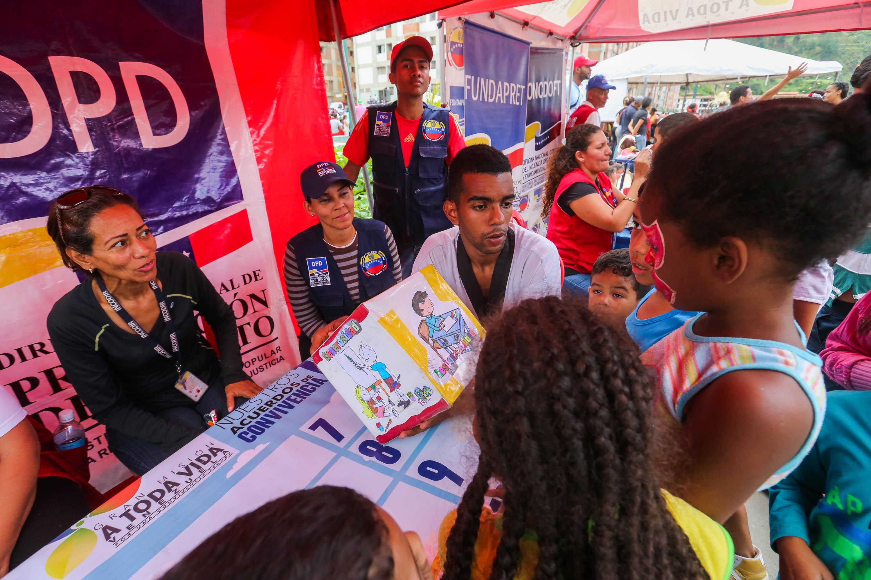 Jornada de prevención integral en Ciudad Tiuna (1)