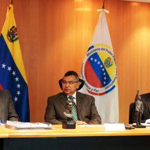 Ministro Néstor Reverol sostuvo un encuentro con la Comisión de Defensa de la ANC (2)