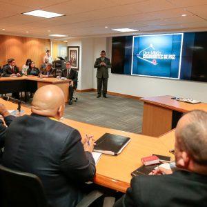 Ministro Néstor Reverol sostuvo un encuentro con la Comisión de Defensa de la ANC (4)