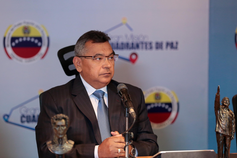 Ministro Reverol felicita a los Investigadores del Crimen en su día