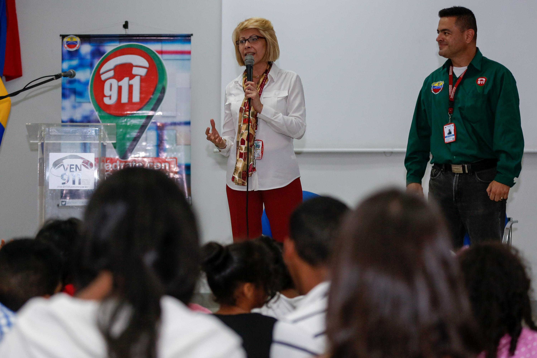 Niñas, niños y jóvenes conocieron el funcionamiento del Centro de Comando, Control y Telecomunicaciones VEN 911