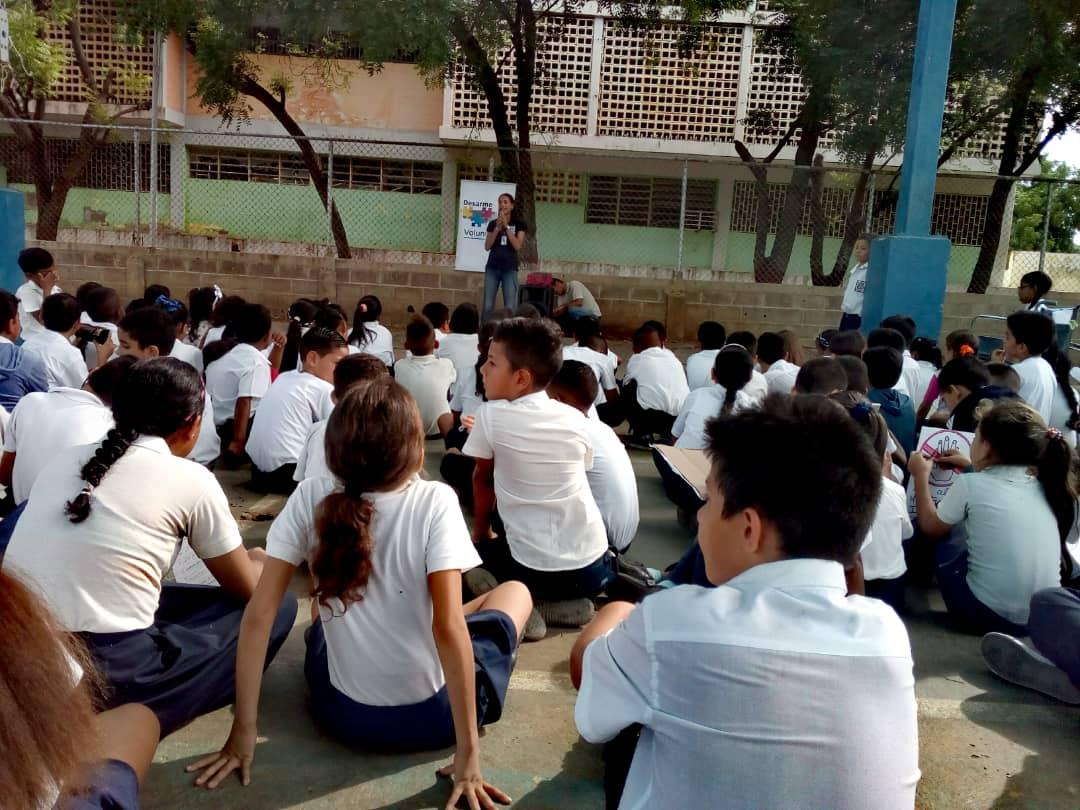 No a la Violencia dijeron 85 estudiantes de la U.E. Virginia Gil de Hermoso en Falcón (1)