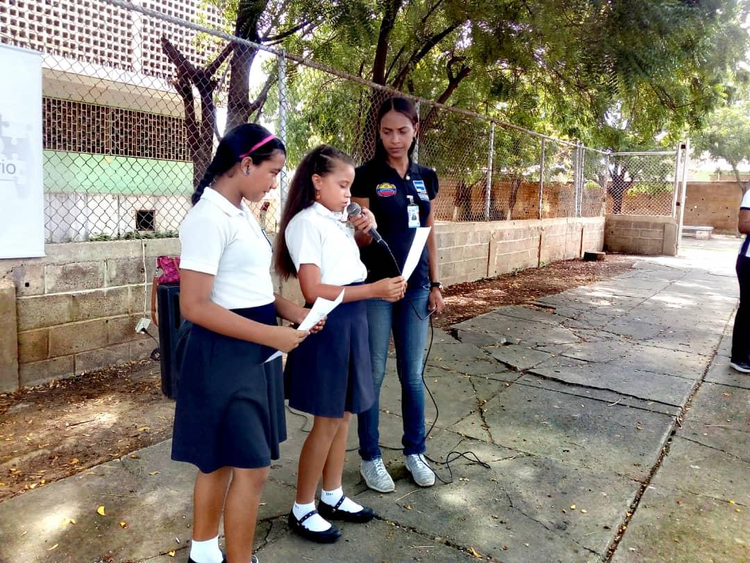 No a la Violencia dijeron 85 estudiantes de la U.E. Virginia Gil de Hermoso en Falcón (10)