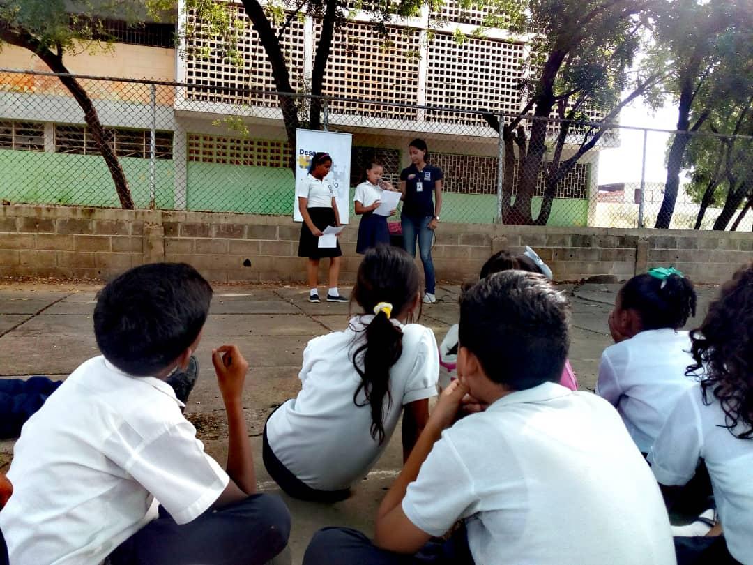 No a la Violencia dijeron 85 estudiantes de la U.E. Virginia Gil de Hermoso en Falcón (11)