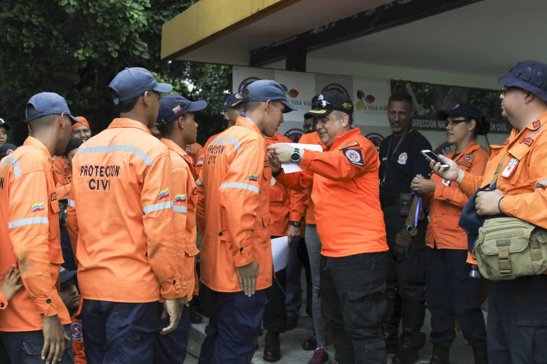 PC evalúa capacidad operativa de funcionarios con competencia de búsqueda y salvamento (1)