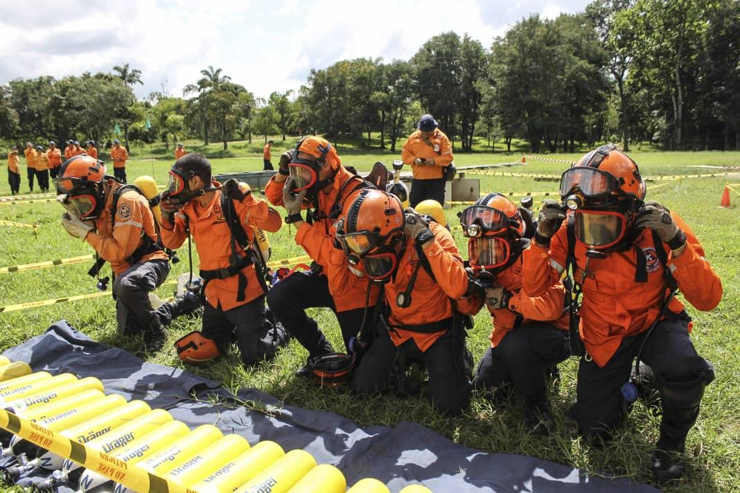 PC evalúa capacidad operativa de funcionarios con competencia de búsqueda y salvamento (2)