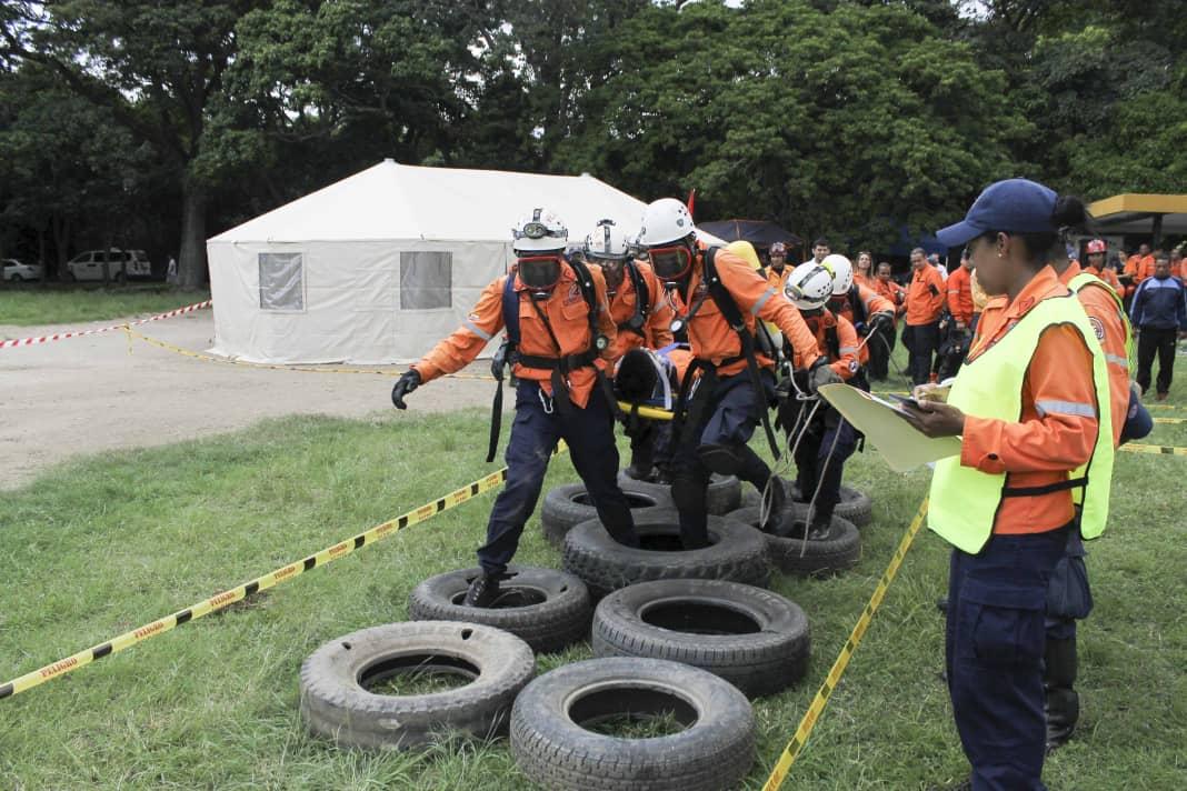 PC evalúa capacidad operativa de funcionarios con competencia de búsqueda y salvamento (3)