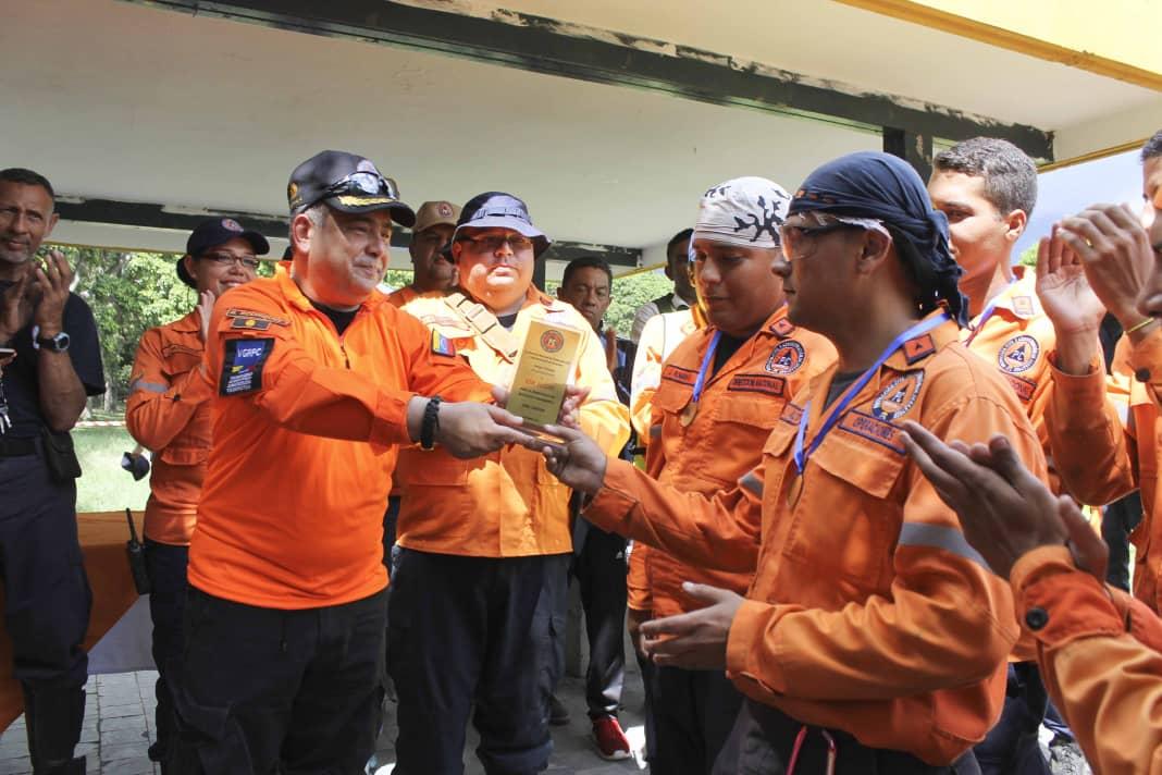 PC evalúa capacidad operativa de funcionarios con competencia de búsqueda y salvamento (4)
