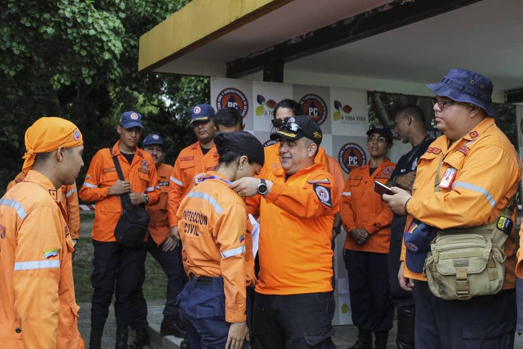 PC evalúa capacidad operativa de funcionarios con competencia de búsqueda y salvamento (5)
