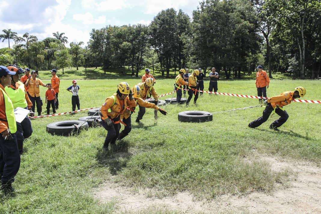 PC evaluó capacidad operativa de funcionarios con competencia de búsqueda y salvamento