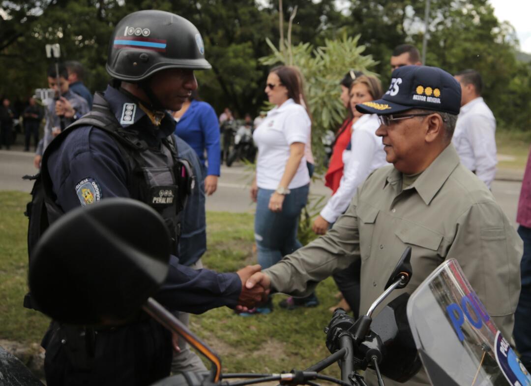 Policías del estado Carabobo son dotados para reforzar labor en Cuadrantes de Paz (4)