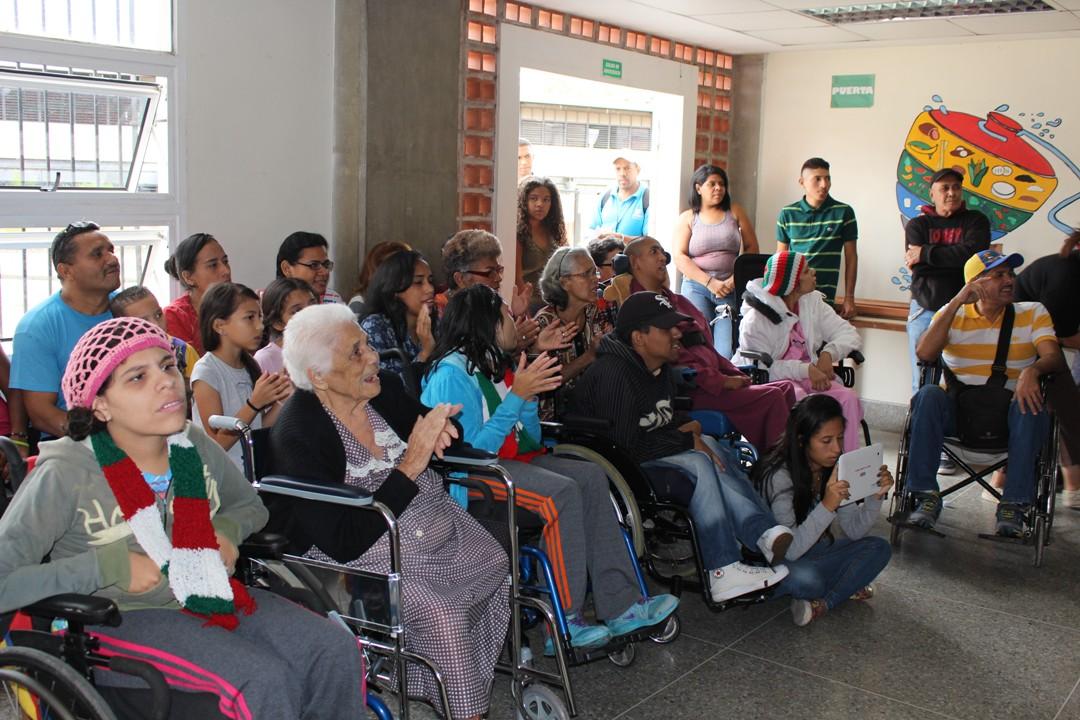 SENADES – Semana Internacional de la Discapacidad con vecinos de Cacique Tiuna (13)