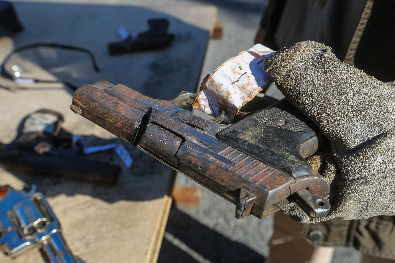 Senades inutilizó mil 311 armas de fuego en la sede del Daex de Fuerte Tiuna (10)