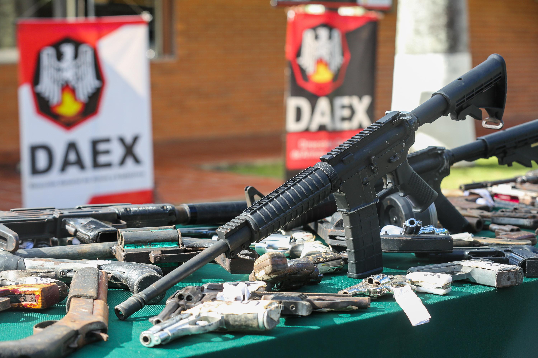 Senades inutilizó mil 311 armas de fuego en la sede del Daex de Fuerte Tiuna (14)
