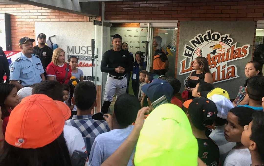 Cpbez y Águilas del Zulia inspiran la creación de un proyecto de vida en niños y jóvenes