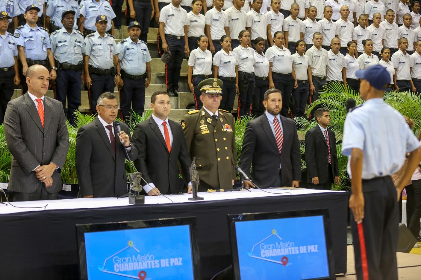 780 funcionarios se suman a acciones para mantener reducción de incidencia delictiva en Miranda