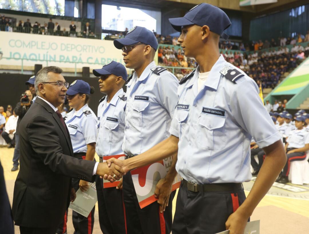 780 funcionarios se suman a acciones para mantener reducción de incidencia delictiva en Miranda (10)