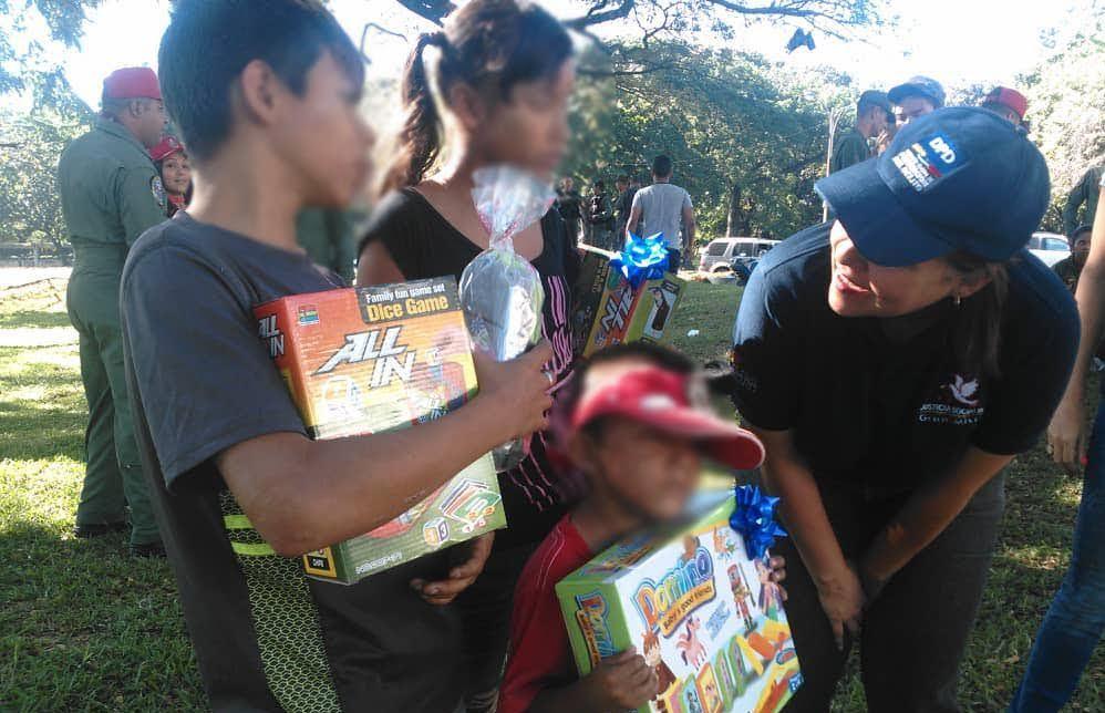 DPD organizó compartir navideño para niños y niñas del estado Carabobo