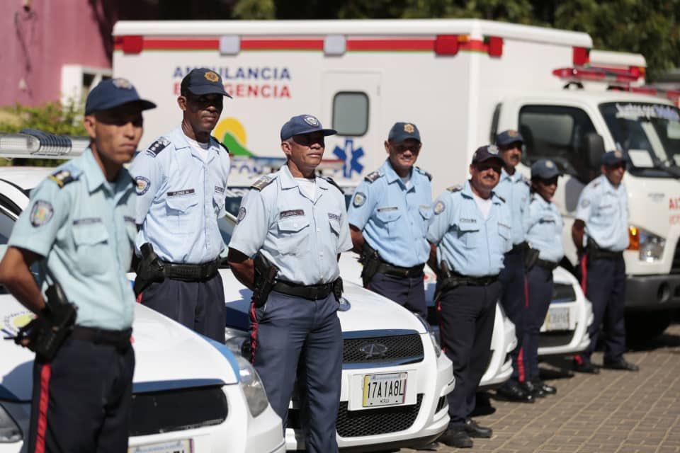 Mpprijp entrega equipamiento a organismos de seguridad y prevención en Falcón