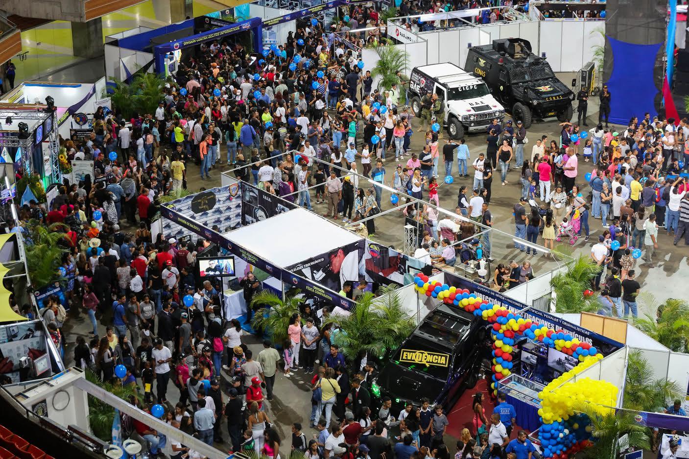 30 mil personas disfrutaron la V edición de la Expo Criminalística 2018