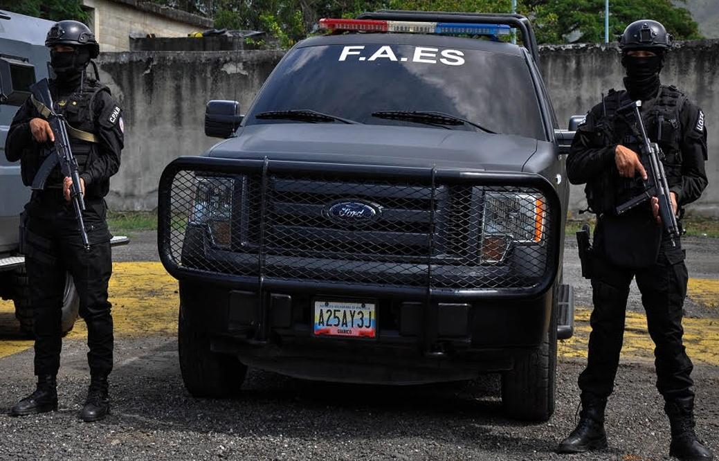 Fallecieron cuatro sujetos tras secuestro frustrado por el Faes en Aragua