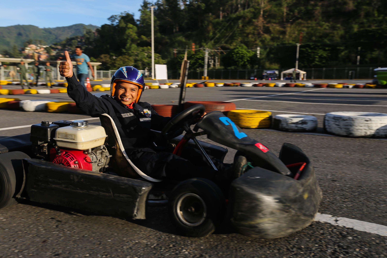 Frente Preventivo del Mpprijp lleva actividades recreativas al Poliedro de Caracas (5)