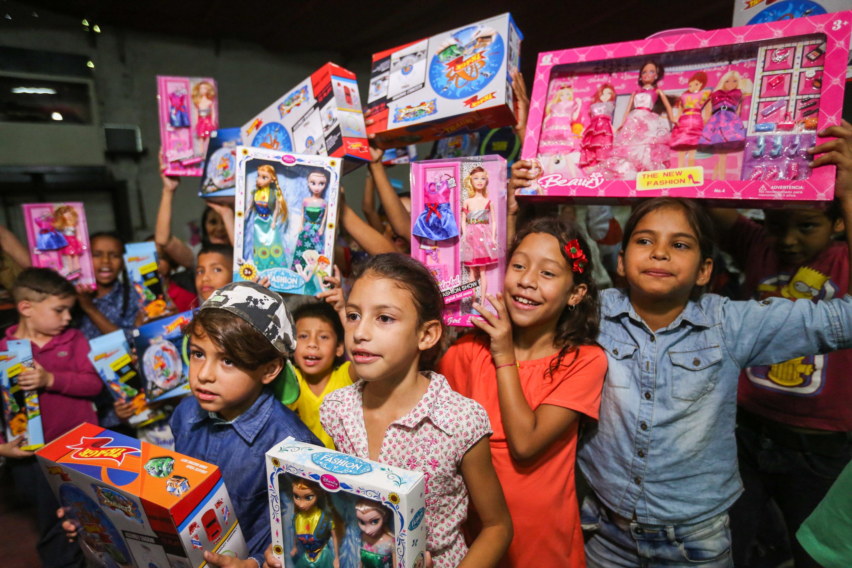 Frente Preventivo llevó mensaje de solidaridad a familias de la Fundación Cristiana Nosotros Unidos (10)