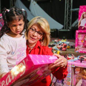 Frente Preventivo llevó mensaje de solidaridad a familias de la Fundación Cristiana Nosotros Unidos (5)