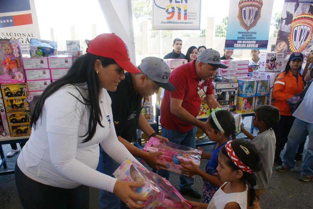Frente Preventivo sigue llevando alegría a los niños y niñas en todo el país (3)