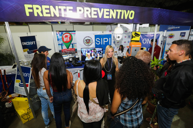 Más de 14 mil personas ya disfrutaron de la Expo Criminalística 2018 (8)
