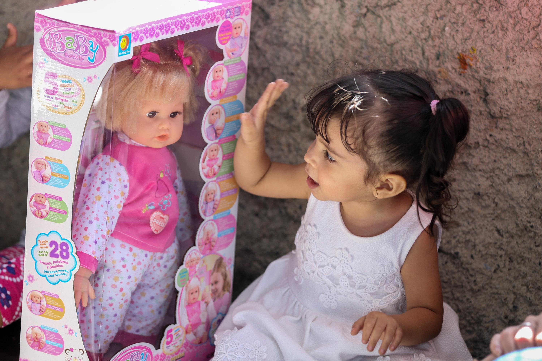 Más de 150 juguetes fueron entregados en la parroquia Petare (12)