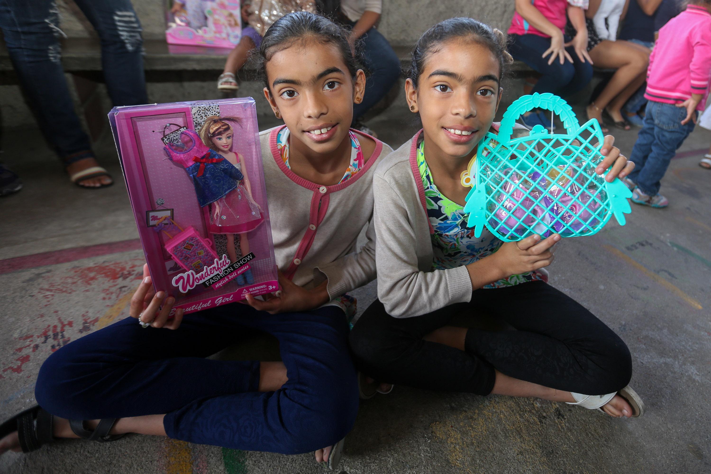 Más de 150 juguetes fueron entregados en la parroquia Petare (15)