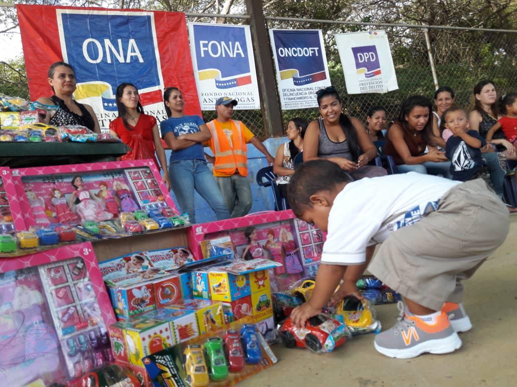 ONA lleva un mensaje de Navidad para los niños y niñas del estado Falcón (1)