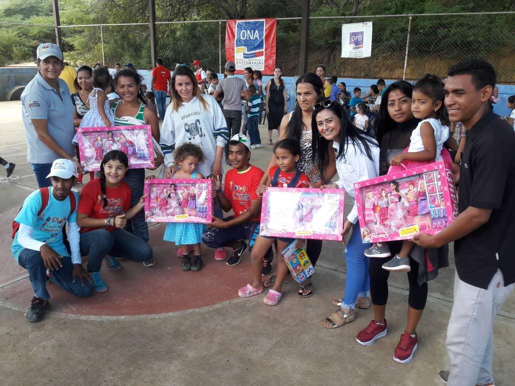 ONA lleva un mensaje de Navidad para los niños y niñas del estado Falcón (3)