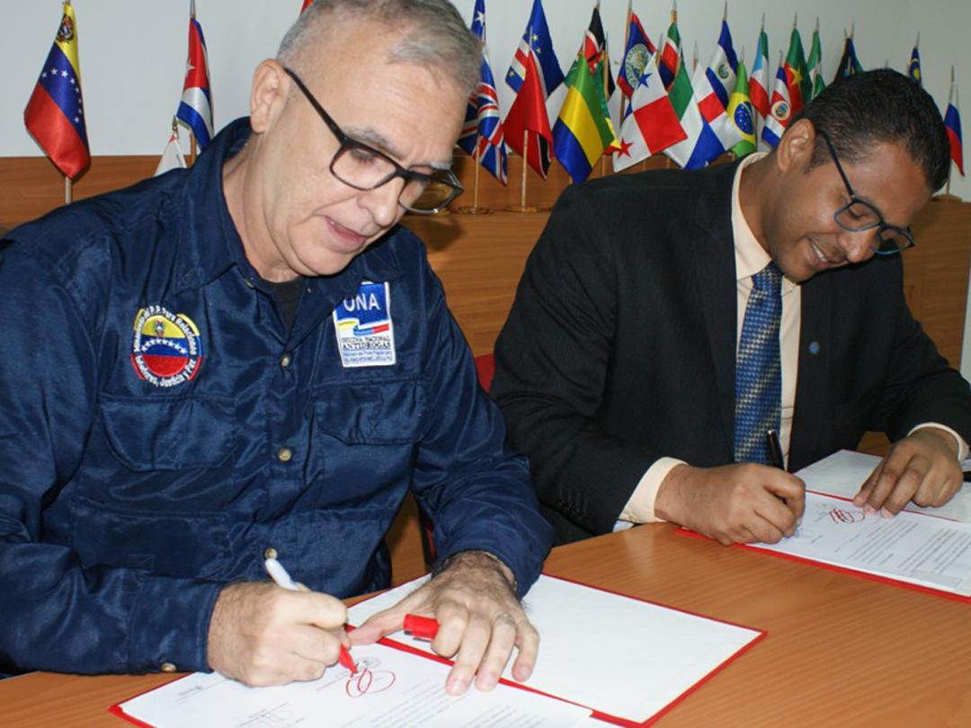 ONA y Uneti establecen alianza tecnológica contra las drogas