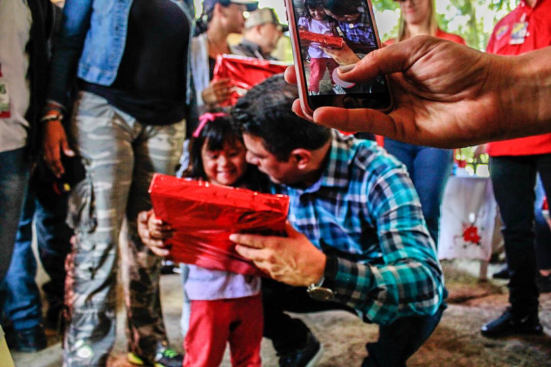 Saime entregó regalos a más de 400 niños del estado Aragua (3)