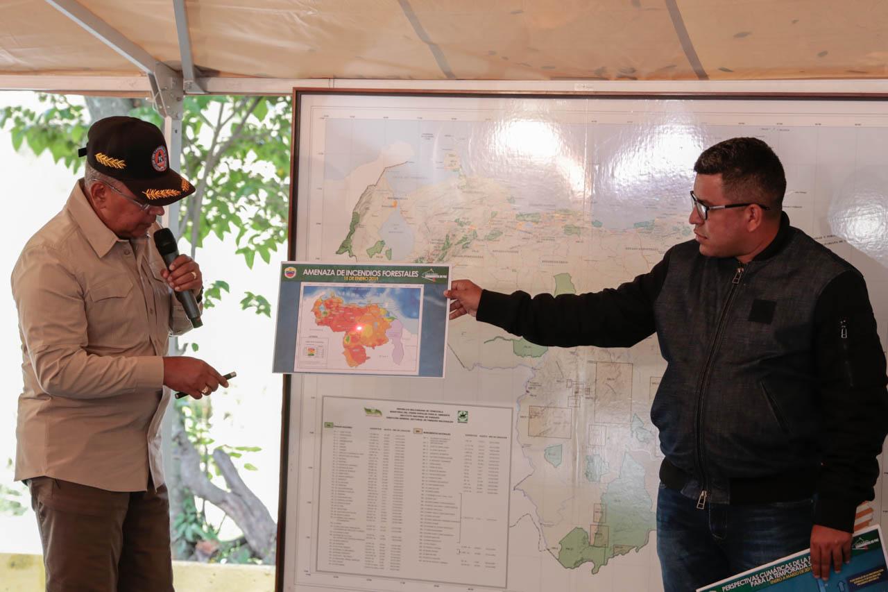 Activado Comando Unificado para la Prevención y Control de Incendios Forestales