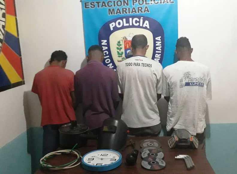 """Desmantelada banda """"Los Toperos"""" en el estado Carabobo"""