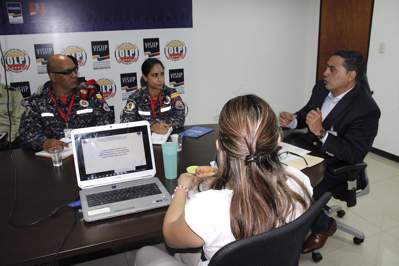 Visiip acordó el diseño del programa de capacitación sobre Investigación Penal (3)