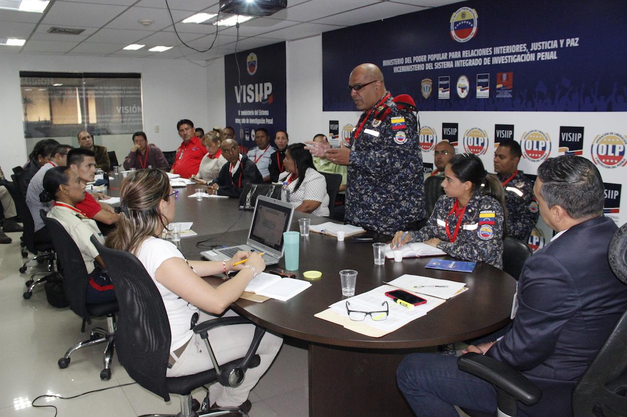 Visiip acordó el diseño del programa de capacitación sobre Investigación Penal (5)