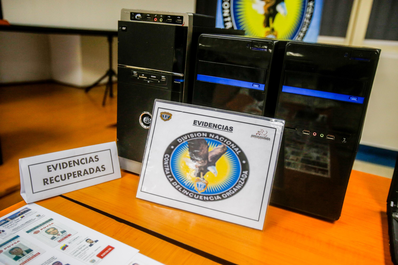 Cicpc asestó duro golpe a mafias dedicadas a la falsificación de documentos (14)