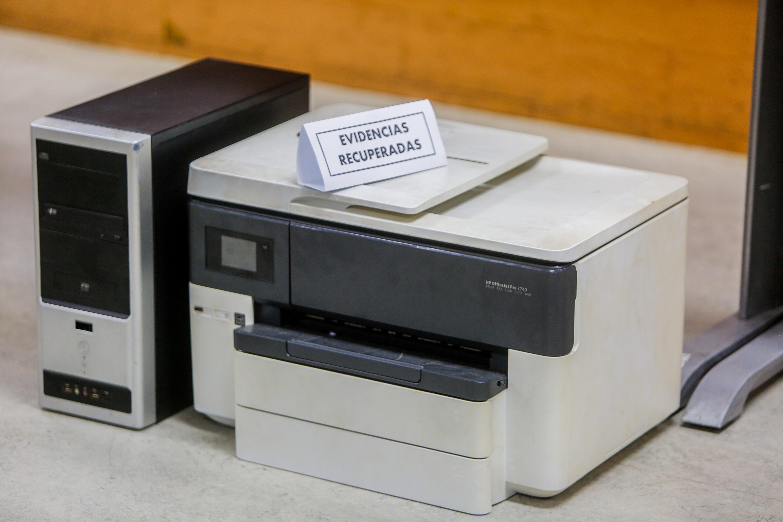 Cicpc asestó duro golpe a mafias dedicadas a la falsificación de documentos (9)