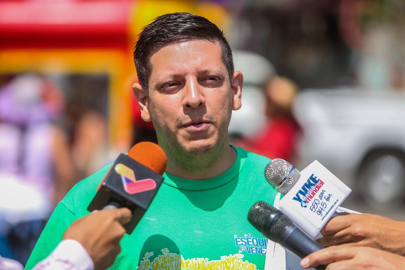Comisionado de la Gran Misión Cuadrantes de Paz (Gmcp), Harim Rodríguez